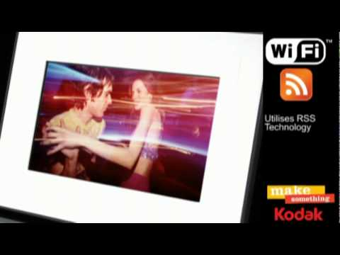 Kodak Easyshare W820 Wireless Digital Frame - YouTube