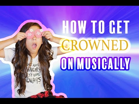 HOW TO GET A CROWN ON MUSICAL.LY TIPS & TRICKS | Txunamy
