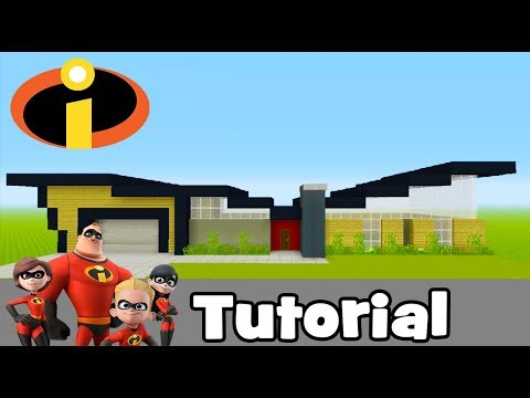 Minecraft Tutorial: How To Make The Incredibles House