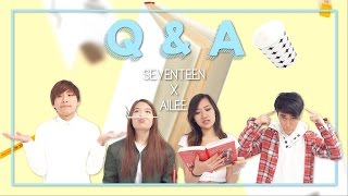 [EAST2WEST] SEVENTEEN(세븐틴), Ailee(에일리) - Q&A Singing Cover MV