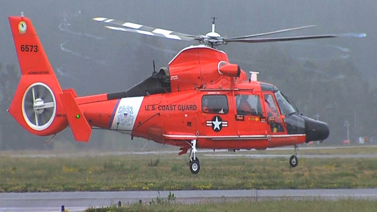 Eurocopter HH 65 Dolphin Coast Guard Humboldt Bay