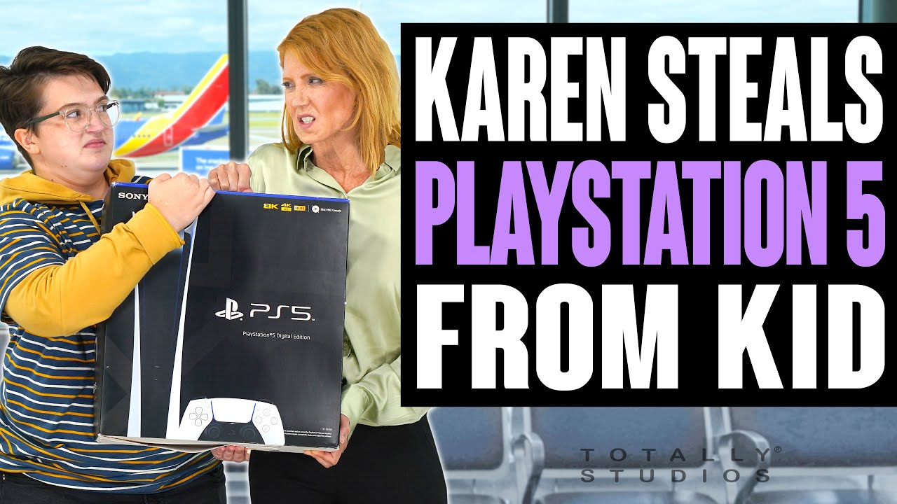 Download Karen STEALS PLAYSTATION 5 from KID. Does He Get the PS5 Back at the End or Instantly Regret It?