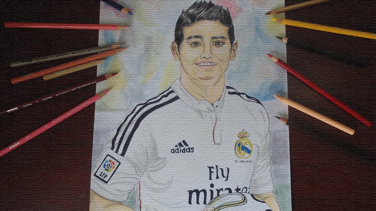 Cómo Dibujar A James Rodriguez Paso A Paso Youtube