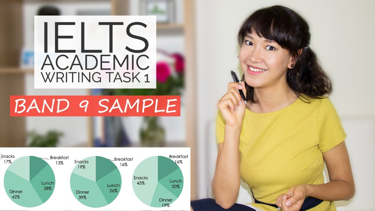 BAND 9 IELTS Writing Task 1 SAMPLE | Academic - Pie Charts