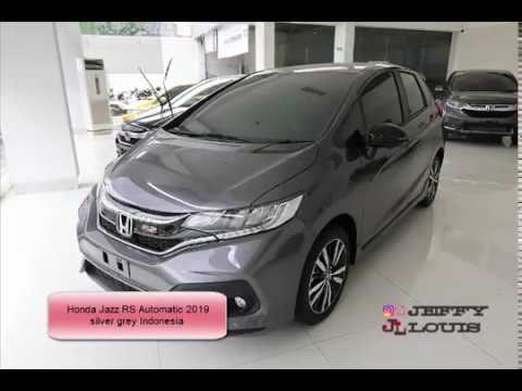 Honda Jazz Rs Automatic 2019 Silver Grey Indonesia