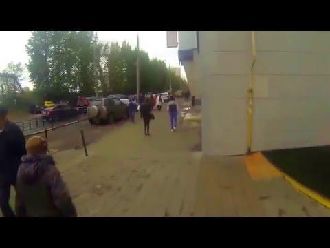 Путь до офиса AJ.ru от метро Багратионовская.
