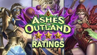 Trump's Ashes of Outland ⭐ Ratings: Paladin / Priest / Rogue | Hearthstone