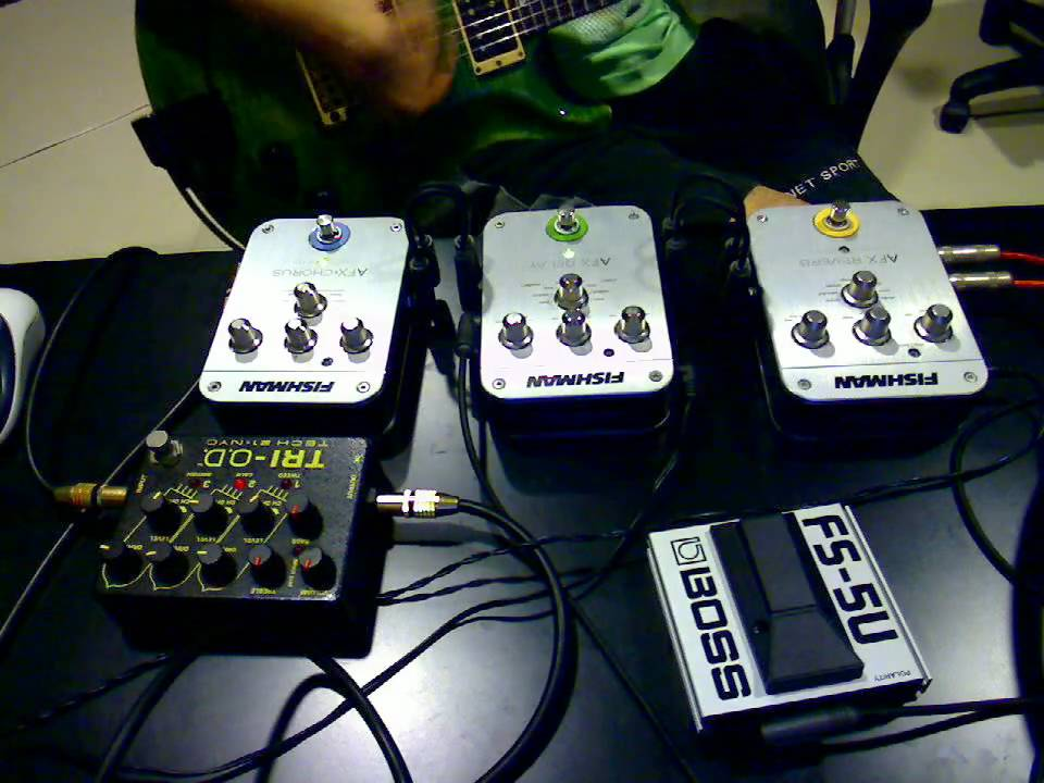 fishman afx acoustic effects pedals with electric guitar in distortion sound youtube. Black Bedroom Furniture Sets. Home Design Ideas