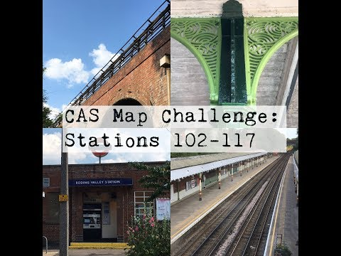Every Tube Station: 102 - 117 (The Map Challenge)