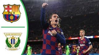 Football, barcelona, barcelona vs leganes, barca, messi, resumen, la liga, soccer, leo fc griezmann, laliga, highlights, sp:li=lig...