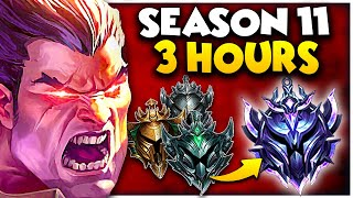 Climb to DIAMOND in THREE HOURS like the PROS in SEASON 11...DARIUS ONLY