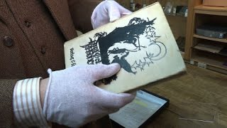 A copy of Grimm's Fairy Tales which was owned and signed by Holocaust victim Anne Frank is to go to auction for the first time in New York. The book was bought at a second-hand bookshop after the war