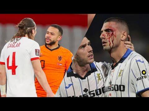 Türk Futbolcuların Racon Kestiği anlar Çağlar Söyüncü Merih Demiral Hakan Çalhanoğlu 2021