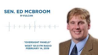 Sen. McBroom speaks on WDET to discuss DEQ oversight panels