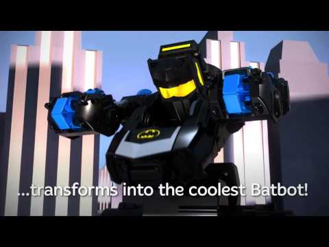 DC Super Friends™ RC Transforming Batbot – Toy Robot | Imaginext | Fisher Price