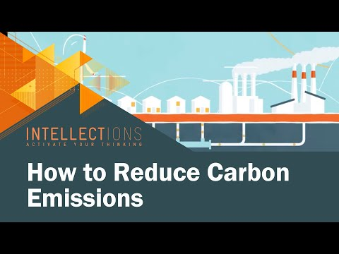 Carbon Taxes: The Most Efficient Way to Reduce Emissions