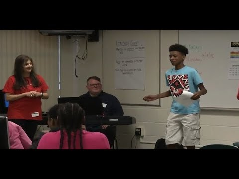 LITEROCITY JULY 2018 Storytelling with Music at Bay Point Middle School