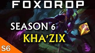 How to Play Kha'Zix Jungle in Season 6 - League of Legends