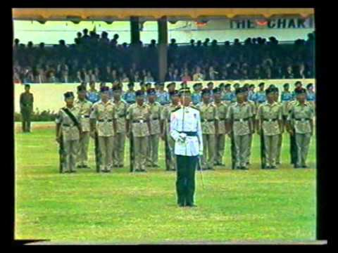 Sultan of Brunei - Military parade