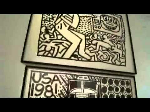 Keith Haring - The Political Line Musée d'Art moderne de la Ville de Paris