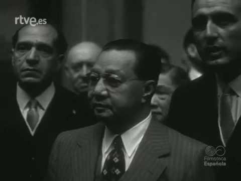 Philippine Pres.Elpidio Quirino State Visit to Spain 1951