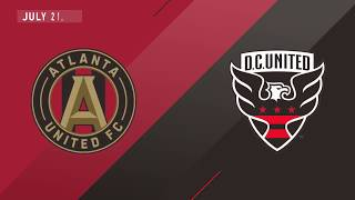 HIGHLIGHTS: Atlanta United vs D.C. United | July 21, 2018
