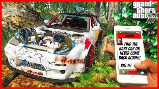 NAŠEL JSEM TOHLE SPECIÁLNÍ AUTO ÚPLNĚ ZNIČENÝ! (GTA 5 Módy)