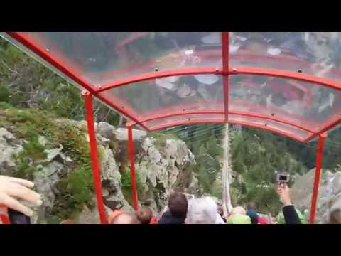 The most dangerous cable tray in the world - Gelmerbahn, Switzerland