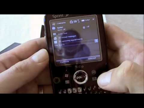 Palm Treo Pro (Sprint) - Unboxing and Hands-On
