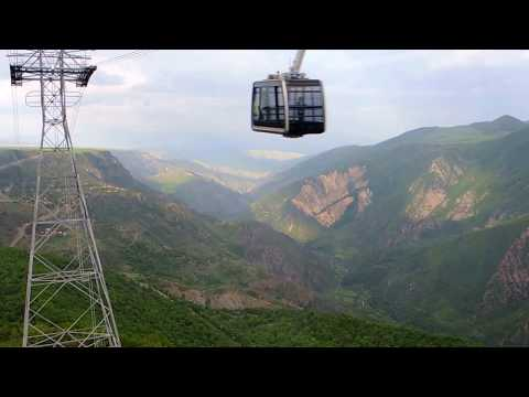 Aerial Tramway Wings Of Tatev In Armenia