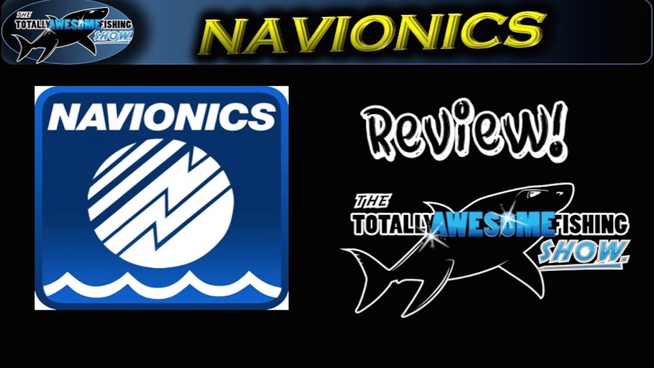 Navionics chart card review | TAFishing
