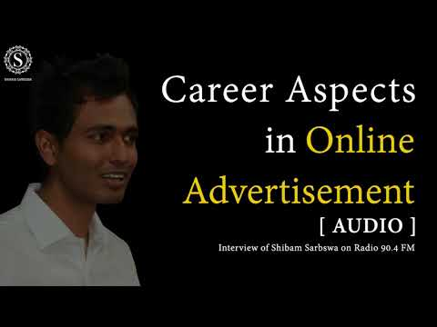 Career Opportunity in Online Advertising [Radio Interview]~via @sshibam