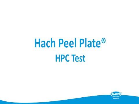 Hach Peel Plate® HPC Test