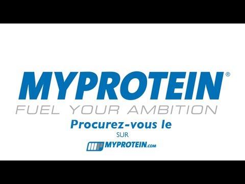Publicité Myprotein / Publicity Myprotein