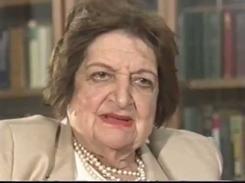 Helen Thomas Recollections, 9/11/02. Tape 1 of 1.