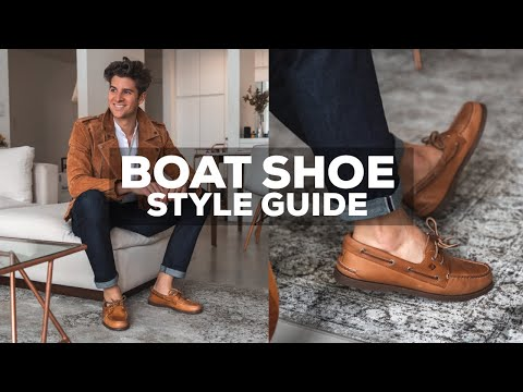 How to Relace Sperry Boat Shoes - YouTube