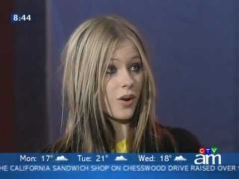 Avril Lavigne - Interview 2 @ CTV Canada 31/05/2004