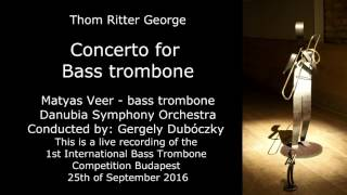 Thom Ritter Georg Concerto for Bass Trombone