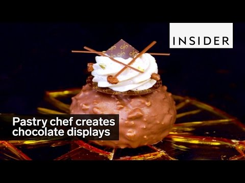 This Pastry Chef Creates Beautiful Chocolate Displays