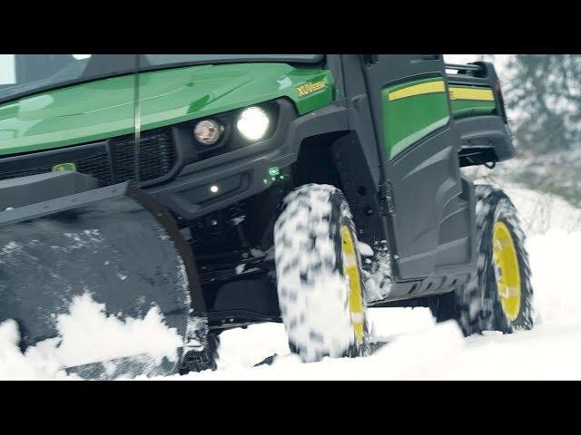 Gator XUV835M per la stagione invernale - Un lavoro ben fatto