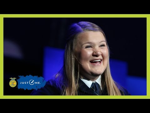 Erica Baier's Retiring Address | 2018 National FFA Convention & Expo