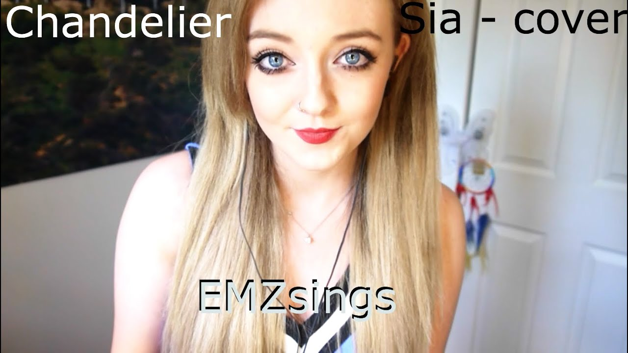 Chandelier - Sia | EMZsings cover - YouTube