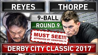 Video Must Watch!!! Efren Bata Reyes v Billy Thorpe ᴴᴰ Derby City Classic 2017 Round 9 [New 2017 Match] download MP3, 3GP, MP4, WEBM, AVI, FLV September 2017