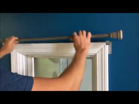 Curtain Rod Brackets Hang Curtains In Seconds!!
