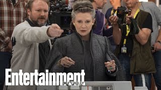 Star Wars: The Last Jedi - Princess Leia's Farewell | Story Behind The Story | Entertainment Weekly