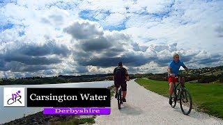 Riding around Carsington Water in Derbyshire 2017