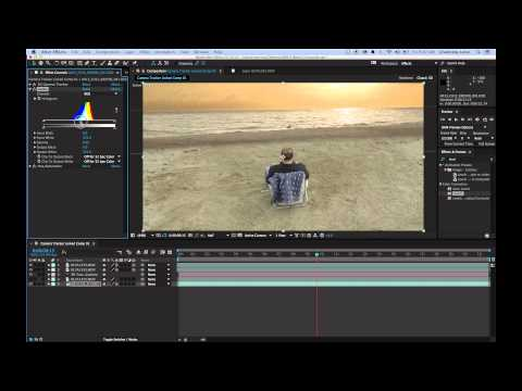 After Effects CC 2014 3D Camera Tracker Tutorial with Composite