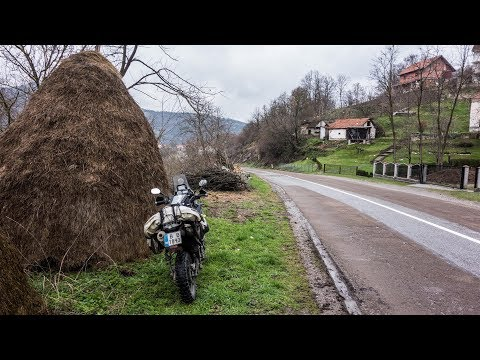 Motorcycle Trip around the Balkans. Beautiful Serbian Mountains - Part 7