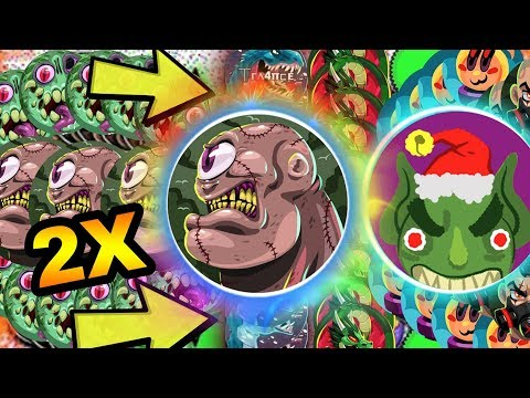 Agar.io 90° SPLIT // 2X VERTICAL LINE SPLIT // 3 in 1 POPSPLIT // Agario New Skin