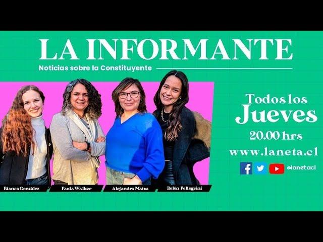 La Informante: Noticia sobre la constituyente